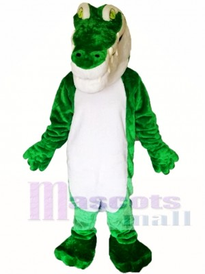 Green Crocodile Mascot Costumes
