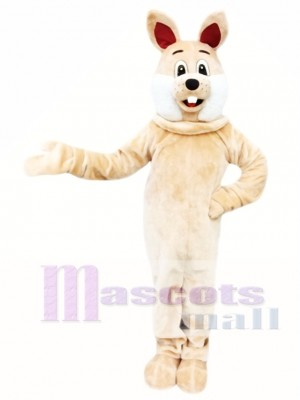 Brown Rabbit Easter Bunny Mascot Costume