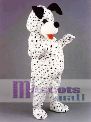 Dalmation Dog Mascot Costume