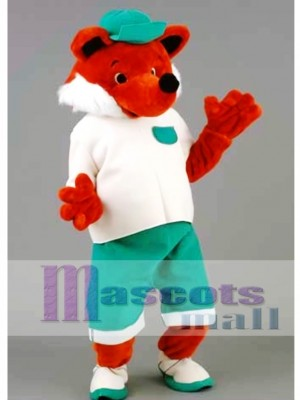 Cool Fox Mascot Costume