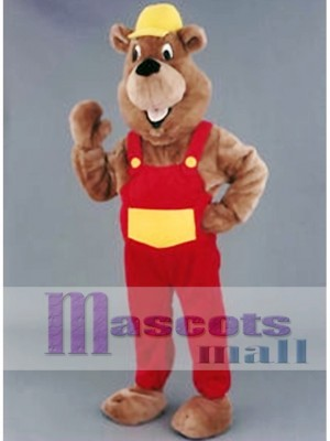 Beaver Mascot Costume for Promotion
