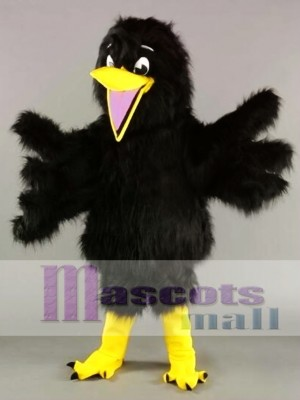Black Bird Crow Mascot Costume