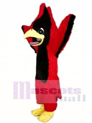 Big Red Cardinal Mascot Costume