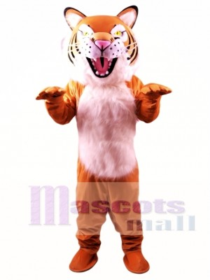 Fierce Wildcat Mascot Costume