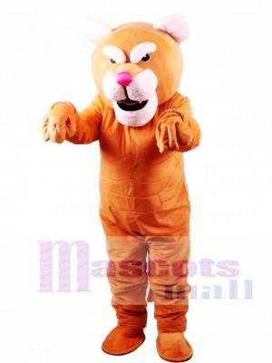 Cougar Power Cat Mascot Costume