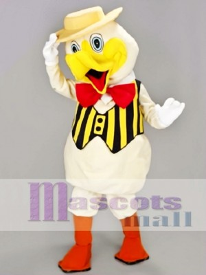 Dapper Duck Mascot Costume