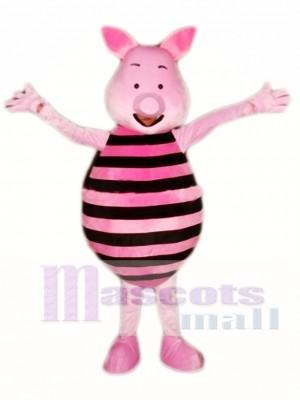 Pink Pig Mascot Costume