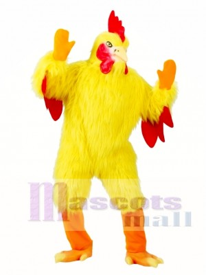 Funny Chicken Adult Mascot Costume
