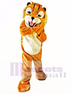 Lovely Tiger Mascot Costume