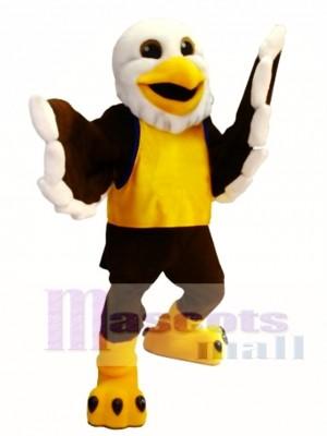 Happy Eagle Mascot Costume