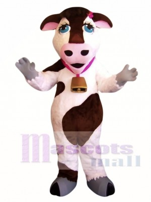 Cute Cow Mascot Costume
