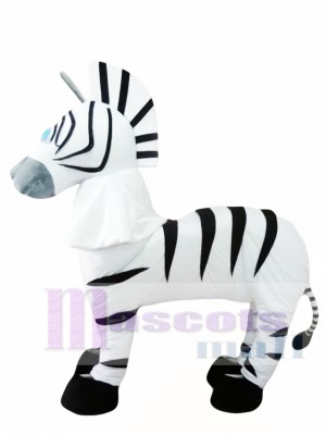 2 Person Adult Zebra Mascot Costumes