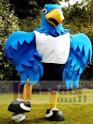 Big Blue Bird Mascot Costume