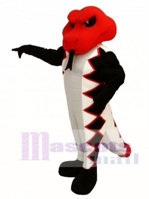 Red Cobra Mascot Costume