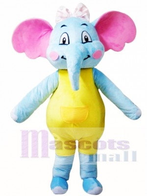 Female Elephant Mascot Costume