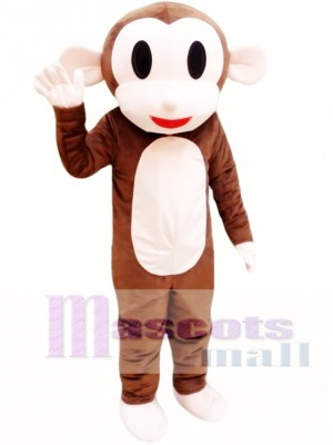 Adult Monkey Mascot Costume