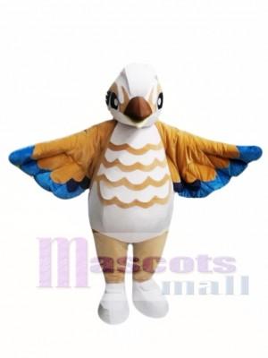 Brown Bird Mascot Costume