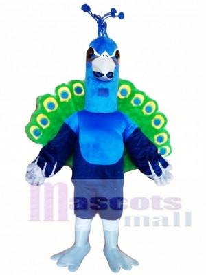 Peacock Mascot Costume