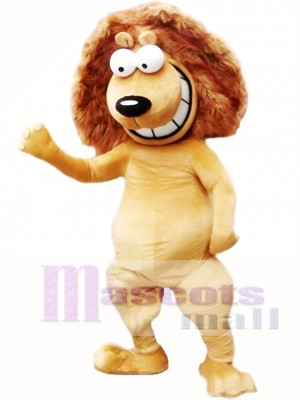 Happy Lion Mascot Costumes