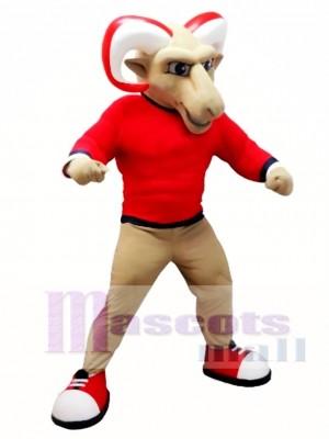 College Ram Mascot Costume