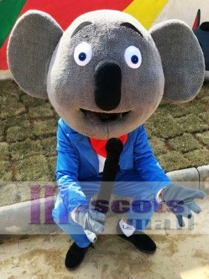 Cartoon Koala Mascot Costume