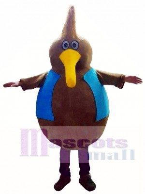 Brown Bird Mascot Costumes