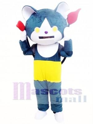 Youkai Watch Jibanyan Blue Cat Mascot Costume