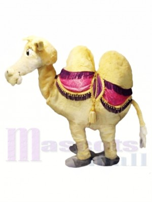 Brown 2 Person Camel Mascot Costumes