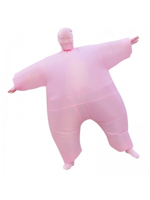 Pink Full Body Suit Inflatable Halloween Christmas Costume for Adult