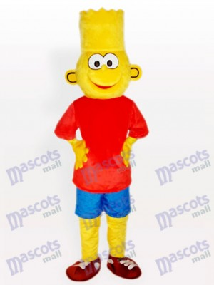 Bart Simpson Anime Mascot Costume