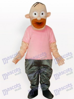 Father Simpson Anime Adult Mascot Costume