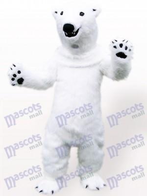 Polar Bear Animal Adult Mascot Costume