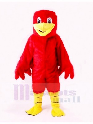 Red Cute Duck Mascot Costumes Cartoon