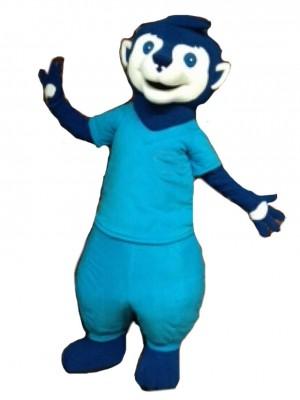 Blue Meerkat Mascot Costumes Animal