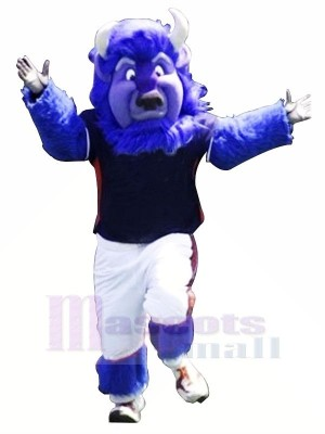 Strong Blue Buffalo Mascot Costumes Animal