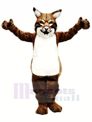 Strong Bobcat Mascot Costumes Animal