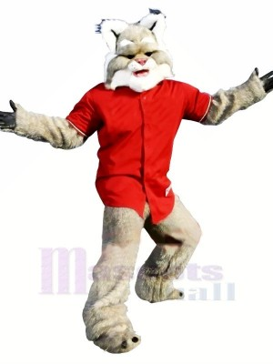 Fierce Wildcat Adult Mascot Costumes Animal