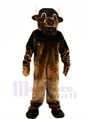 Strong Brown Bull Mascot Costumes Animal