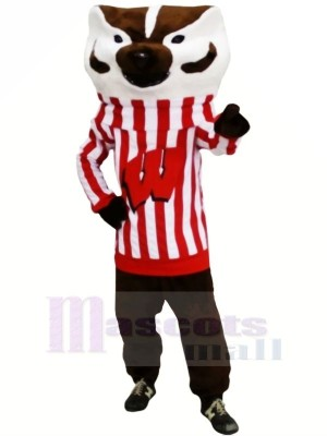 Strong Bucky Badger Mascot Costumes Animal