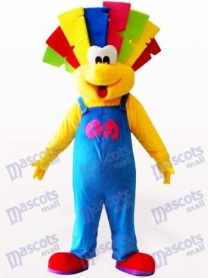 Cute Clown Party Adult Mascot Costume