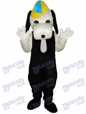 Leisure Snoopy Dog Mascot Adult Costume