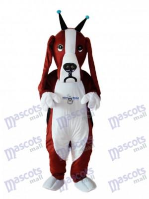 Revised Basset Dog Mascot Adult Costume