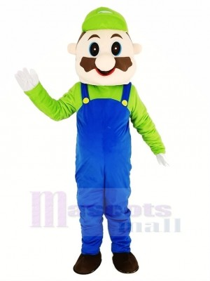 Super Mario Bros Mascot Costume Adult