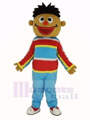 Sunshine Boy Sesame Street Ernie Mascot Costume Cartoon
