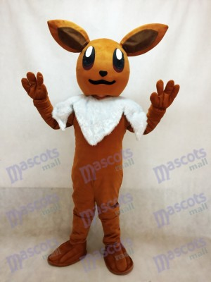 Pokémon Pokemon Go Eevee Eievui Brown Mascot Costume