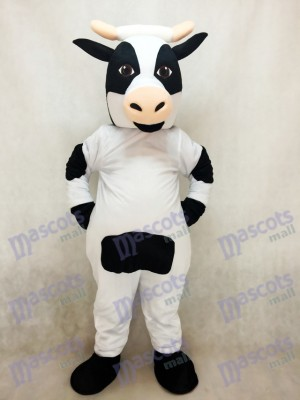 Cute Dairy Cow Mascot Costume