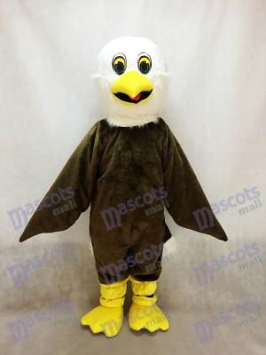 Brown Eagle Mascot Costume