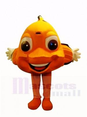 Cute Orange Clownfish Mascot Costumes Cartoon