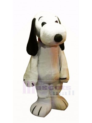 Cute Snoopy Dog Mascot Costume Cartoon