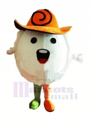 Chinese Dumpling Mascot Costume Cartoon